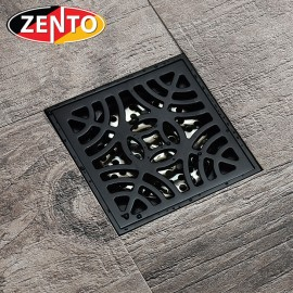 Thoát sàn chống mùi Black series Zento ZT521 (100x100mm)